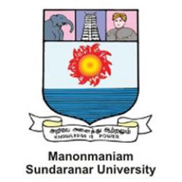 Manonmaniam Sundaranar University, Tamil Nadu